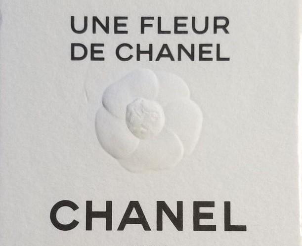 Chanel Une Fleur de Chanel box