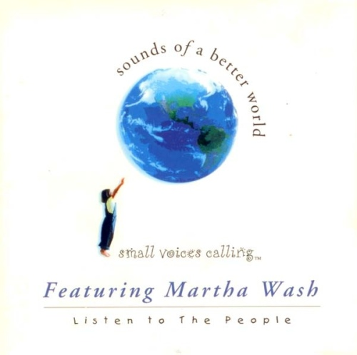 Small Voices Martha Wash CD Listen To The People