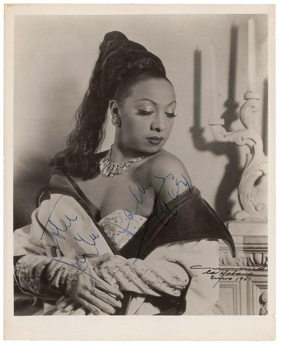Votre, Josephine Baker, 1964