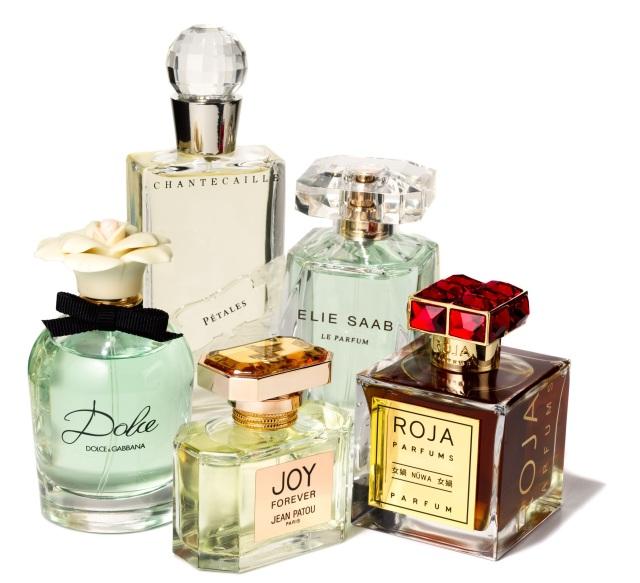 Dolce & Gabbana, Jean Patou Joy Forever, Elie Saab Le Parfum, Roja