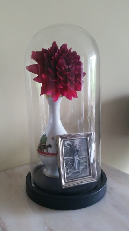 Cartier Limoges La Maison Vase Mother Tiffany & Co Sterling frame