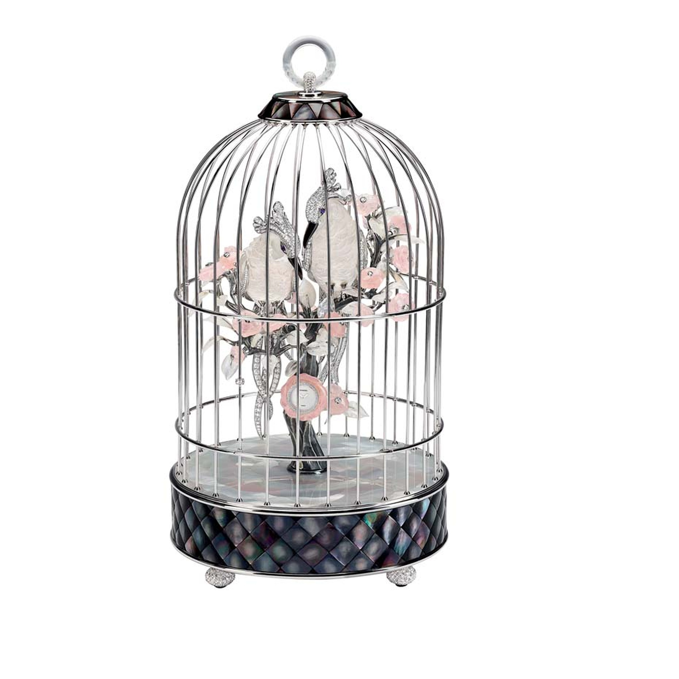 Chanel Birdcage Clock
