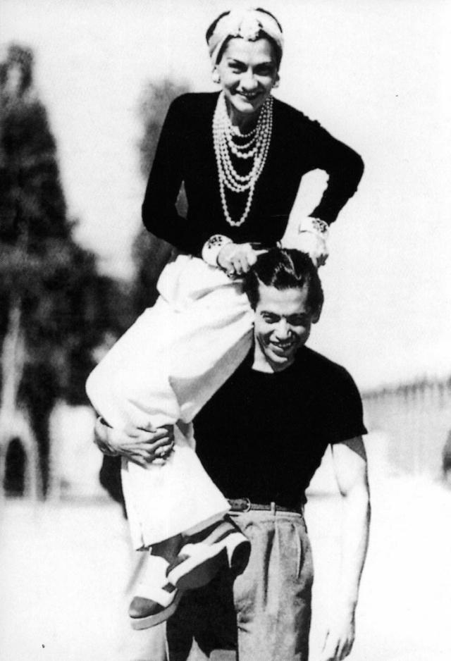 Coco Chanel & Serge Lifar, 1937