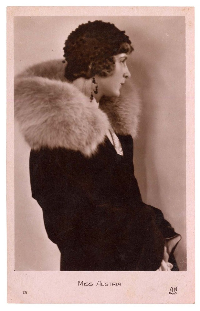 Miss Austria, Ingeborg von Grinberger -