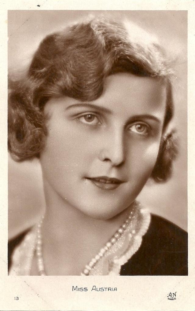 Miss Austria, Ingeborg von Grinberger