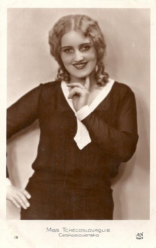 Miss Tchécoslovaquie, Milada Dostálová -