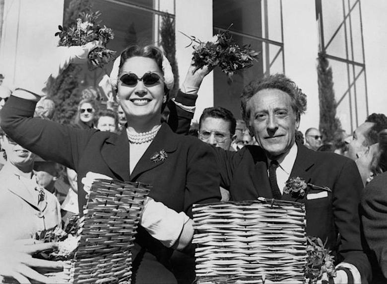 Begum Om Habibeh Aga Khan Jean Cocteau