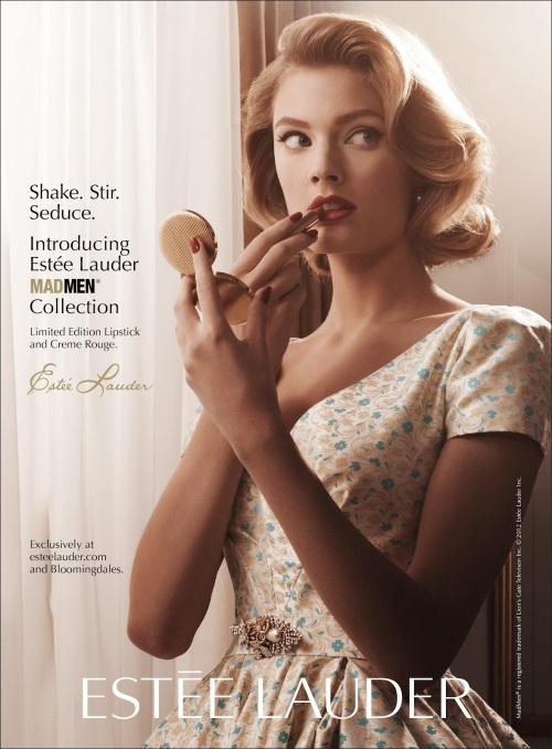 Estee Lauder Mad Men Collection 2012 Ad