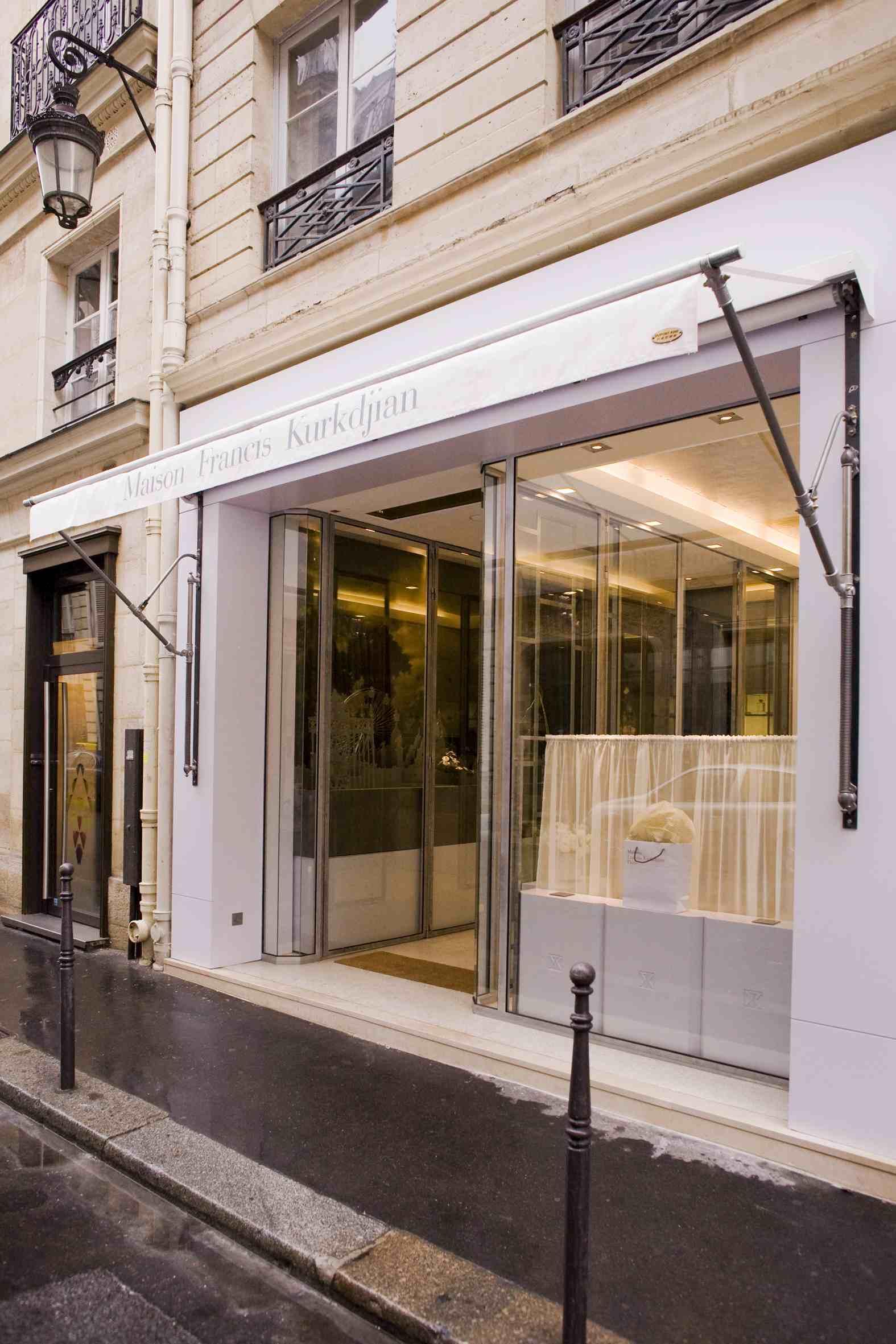 Francis Kurkdjian Maison Shop Boutique Paris