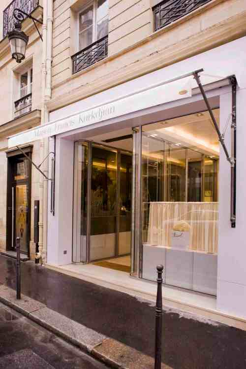 Francis Kurkdjian Maison Shop Boutique Paris