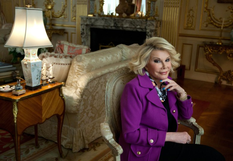 Joan-Rivers at home Ruth Fremson The New York Times