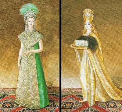 Madame Vincente-Minnelli and Madame Jean-Claude Abreu