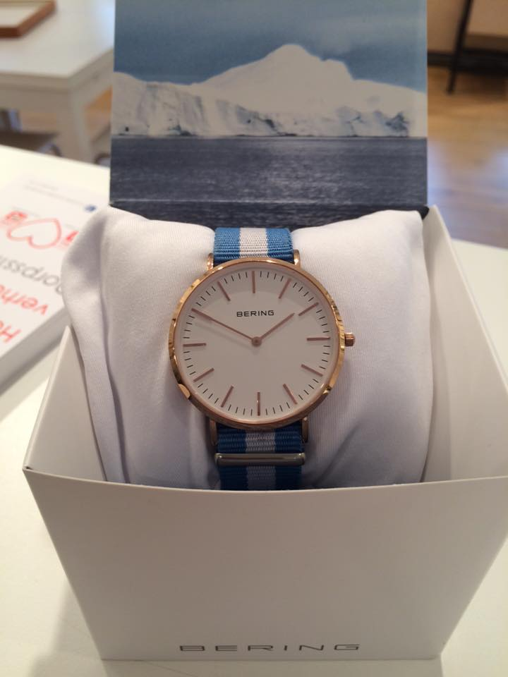 Behring Watch Pink Gold