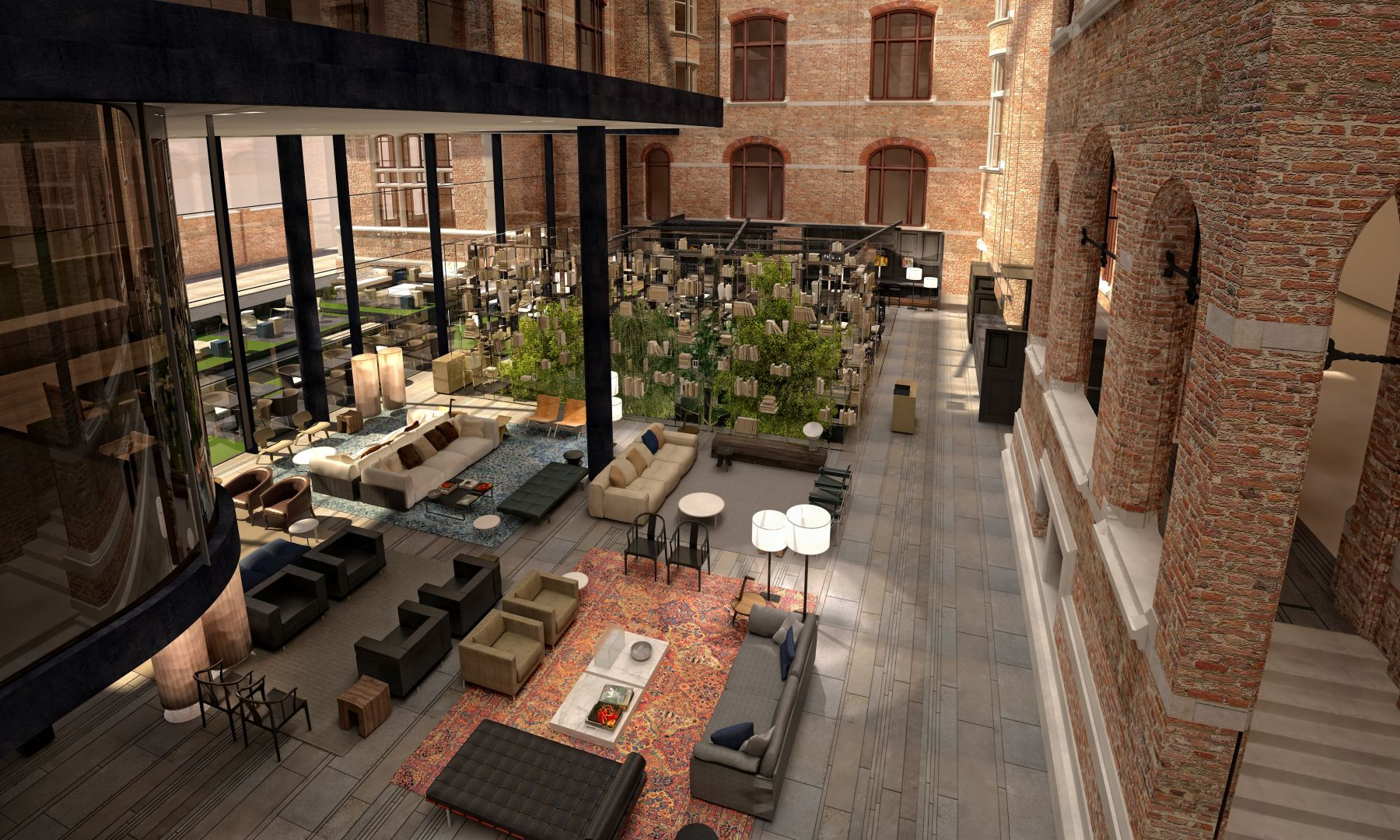 Conservatorium hotel amsterdam offers van gogh package for Interieur architect amsterdam