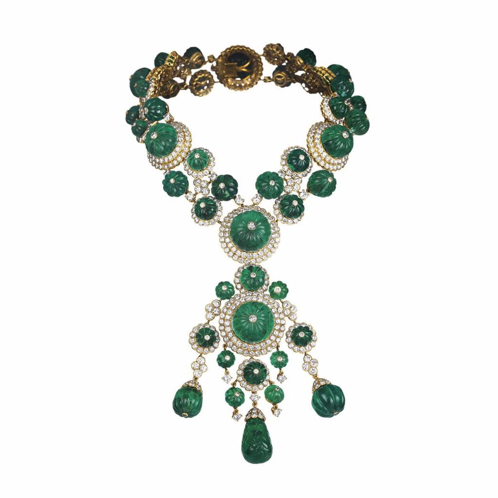 Van Cleef & Arpels Emerald Salimah Aga Khan