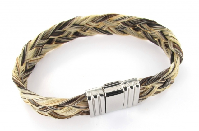 Albanu Bracelet Horse Hair Sterling
