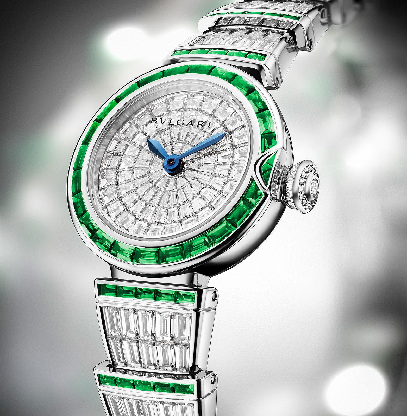 Bulgari Lucea Diamond Emerald High Jewelry