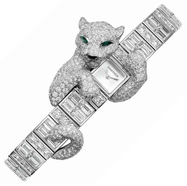 Cartier Baguette Panthere Watch