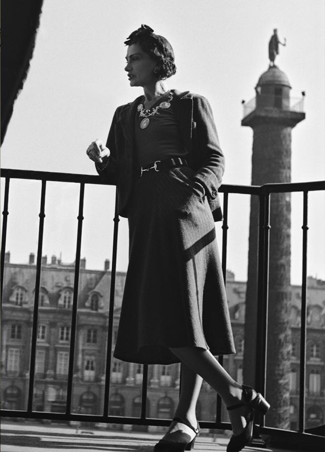 Coco Chanel at the Ritz Paris