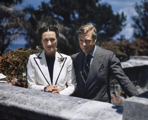 Duke Edward VIII and Duchess Wallis Simpson