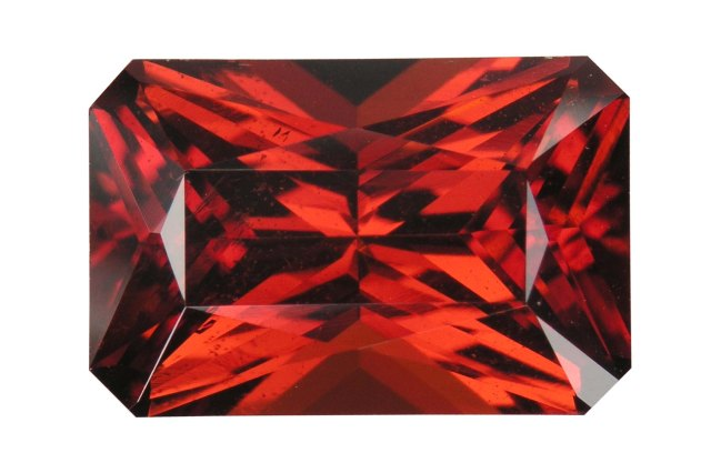precious red stone Garnet