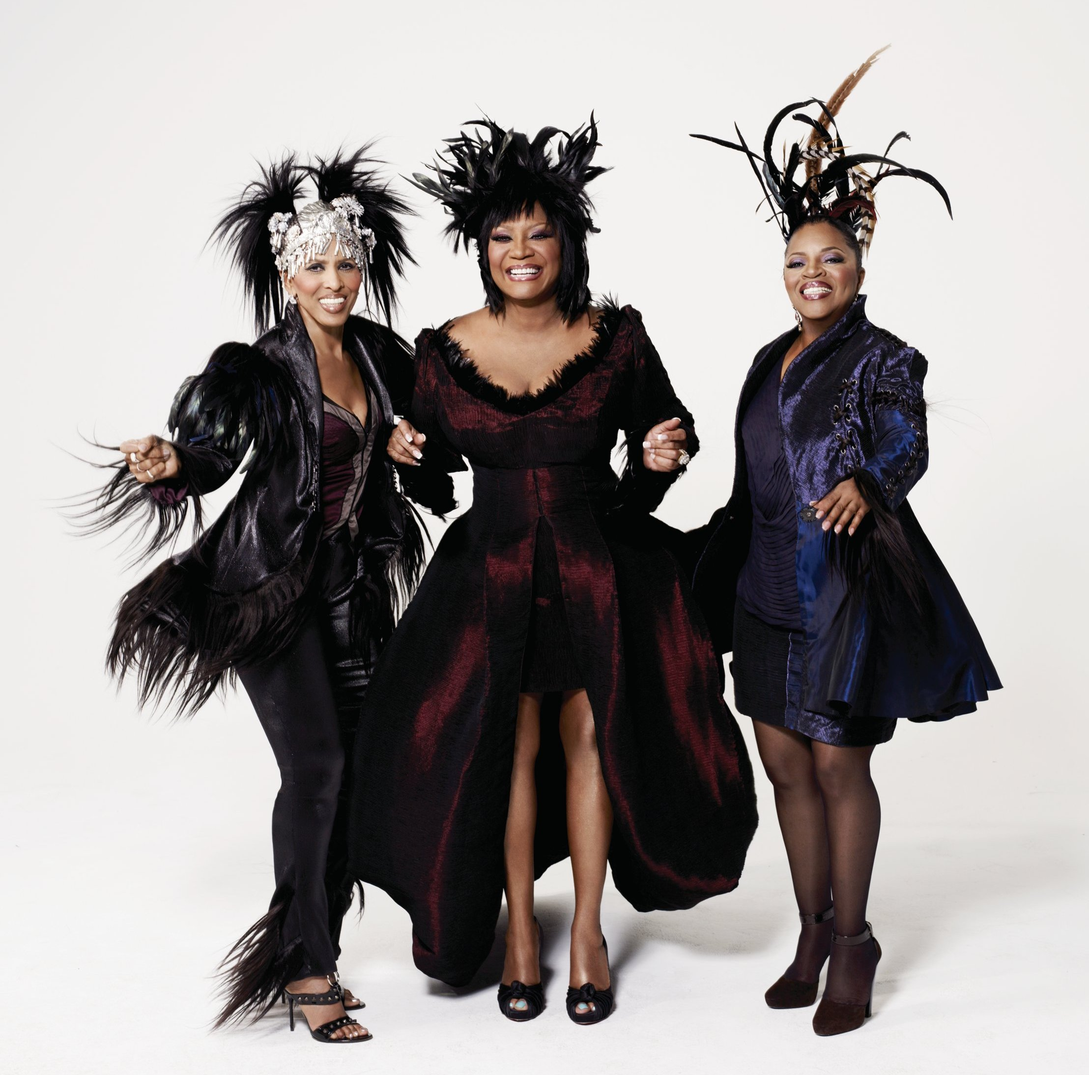 Nona Hendryx Patti LaBelle Sarah Dash of Labelle Courtesy of Verve Records
