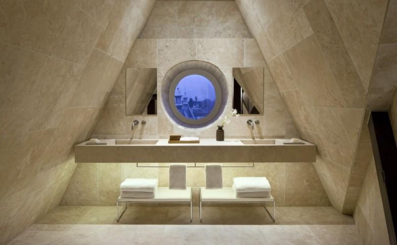 Conservatorium Hotel, Amsterdam bathroom Rooftopsuite