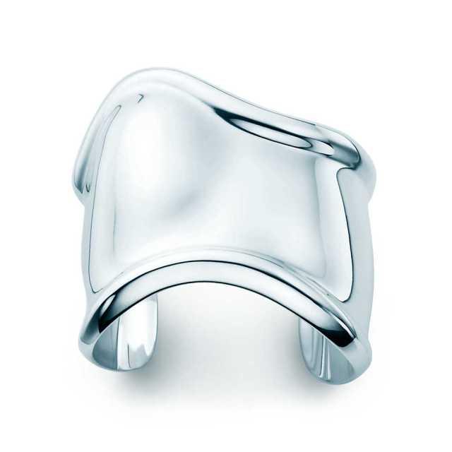 Tiffany Elsa Peretti Bone Sterling Bracelet
