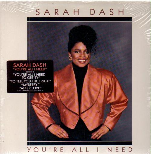 sarah dash you're all i need