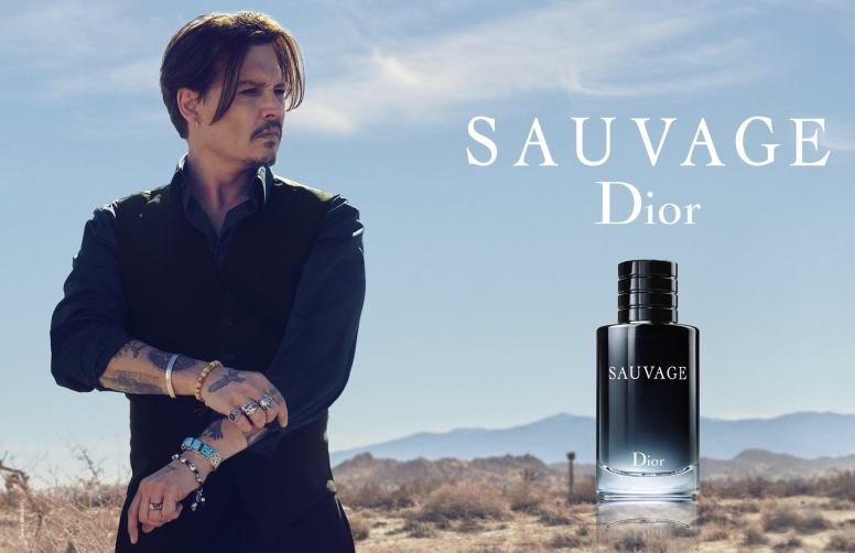 Johnny Depp Christian Dior Sauvage