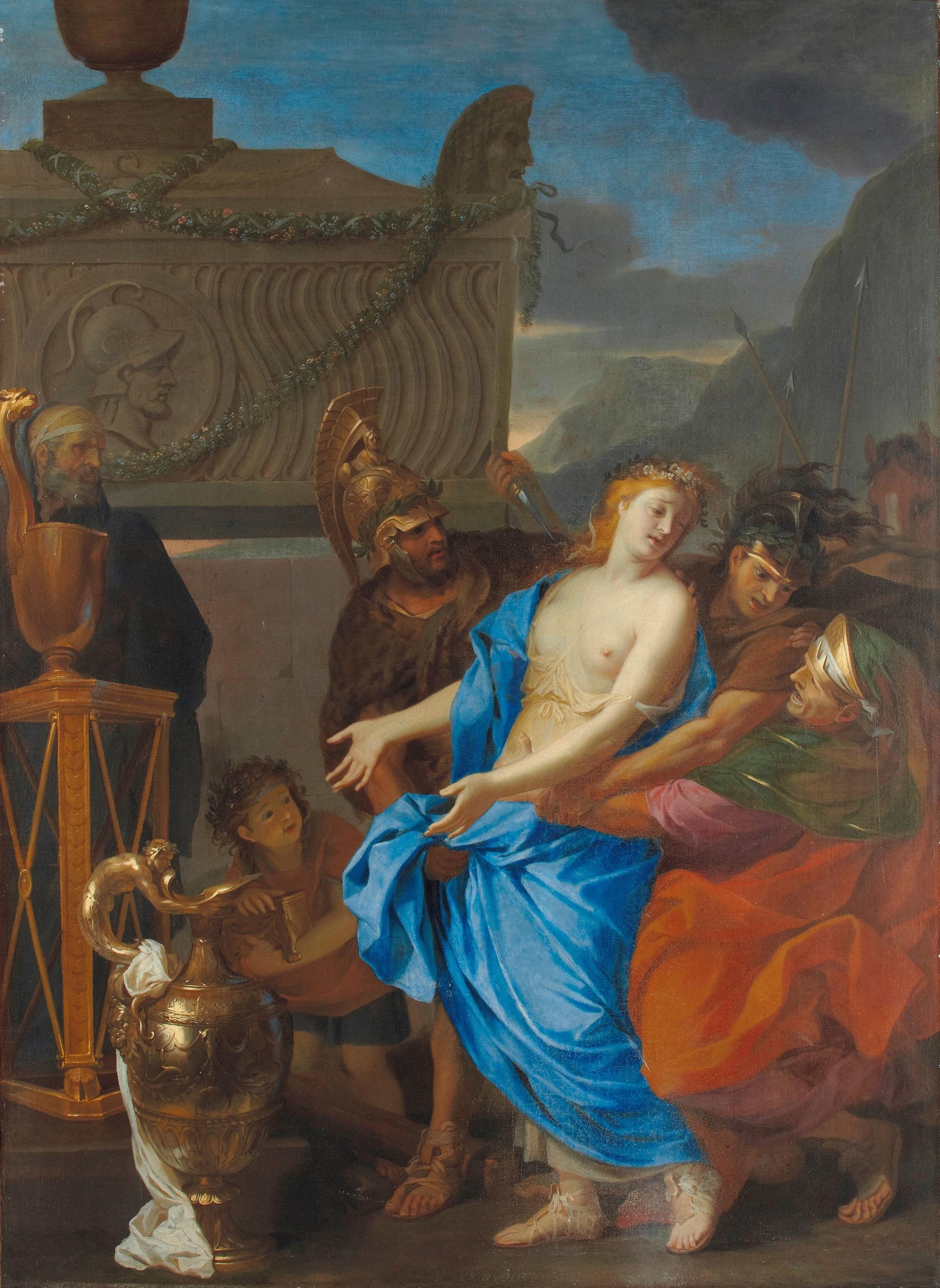 The-Sacrifice-of-Polyxena-Charles-Le-Brun-1647