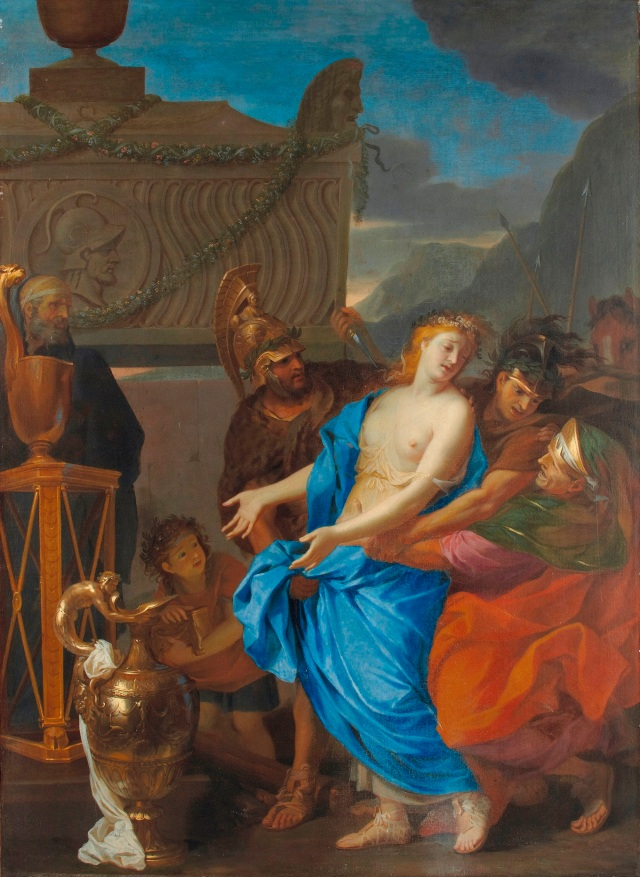 The-Sacrifice-of-Polyxena-Charles-Le-Brun-1647