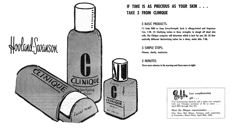 Clinique 3-Step Vintage
