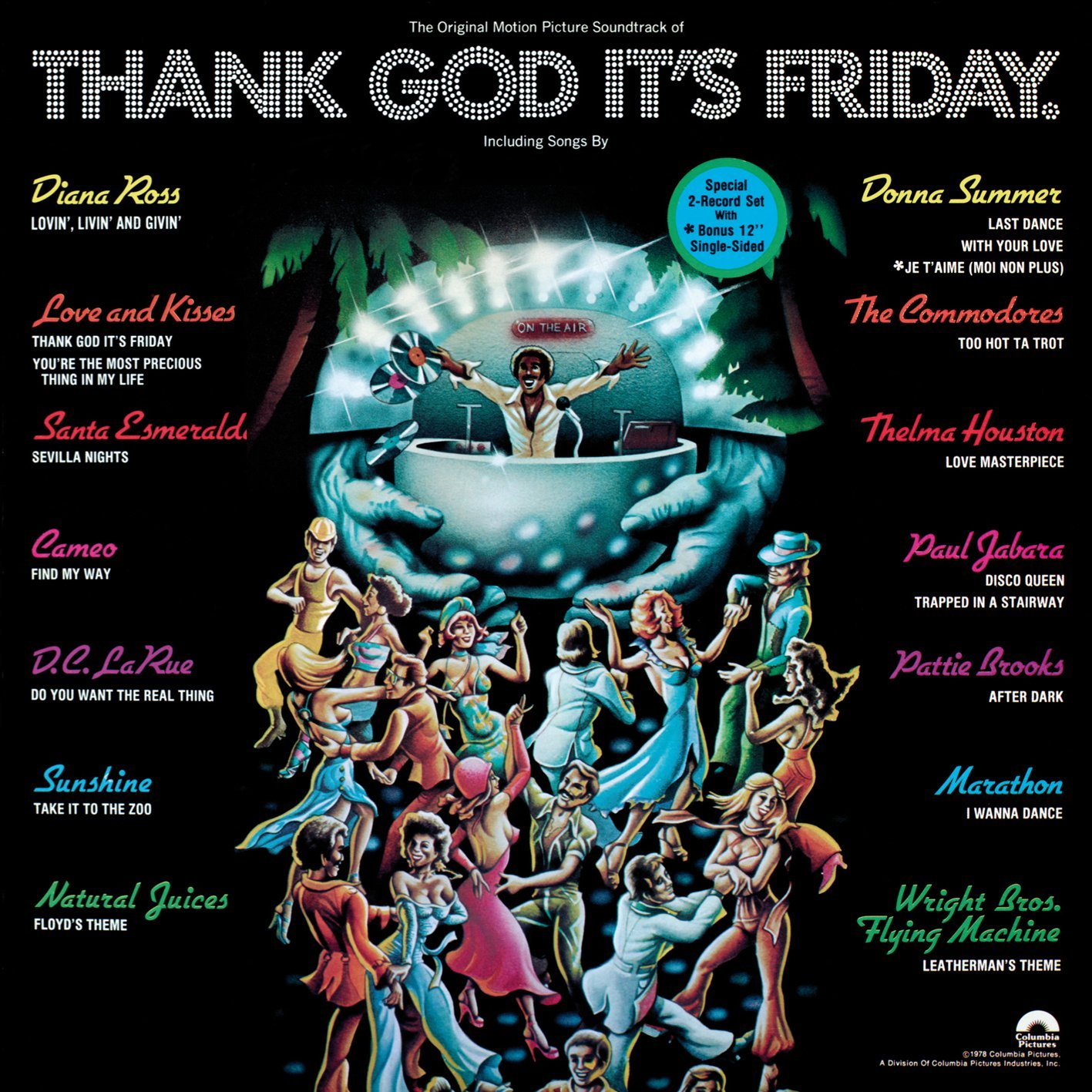 Thank God Its Friday Donna Summer Paul Jabara Thelma Houston Diana Ross Movie