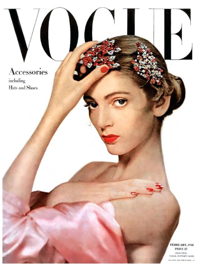 Carmen Dell'Orefice Vogue 1948