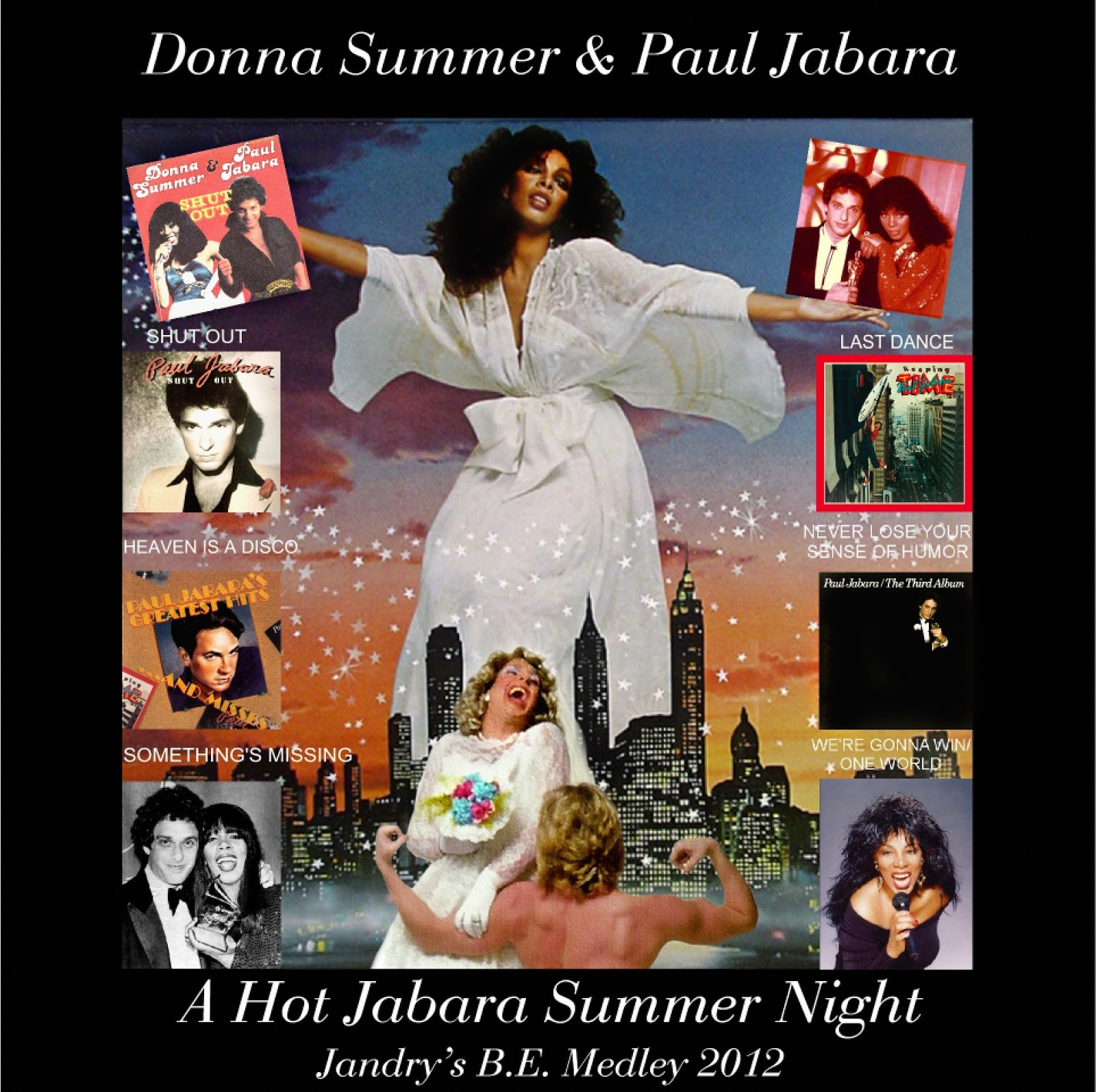 A Hot Jabara Night 2012 Paul Donna Summer