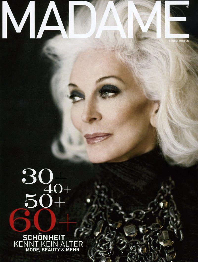 Carmen Dell'Orefice Madame-october-2010-carmen-dellorefice-by-tim-petersen