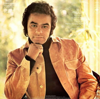 1971 Johnny Mathis - Love Story_ USA backside