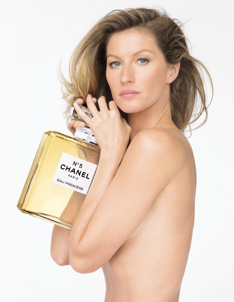 Chanel N°5 EAU PREMIÈRE Giselle Bundchen