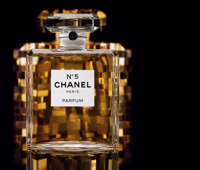 Chanel No5 Crystal Bottle