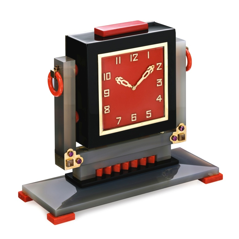 Lacloche Frères Art Deco Clock