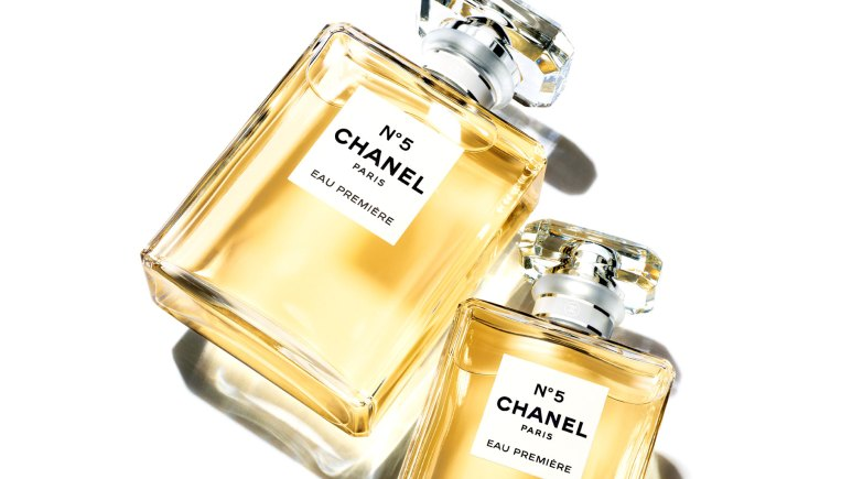Chanel N°5 EAU PREMIÈRE Wihte Gold