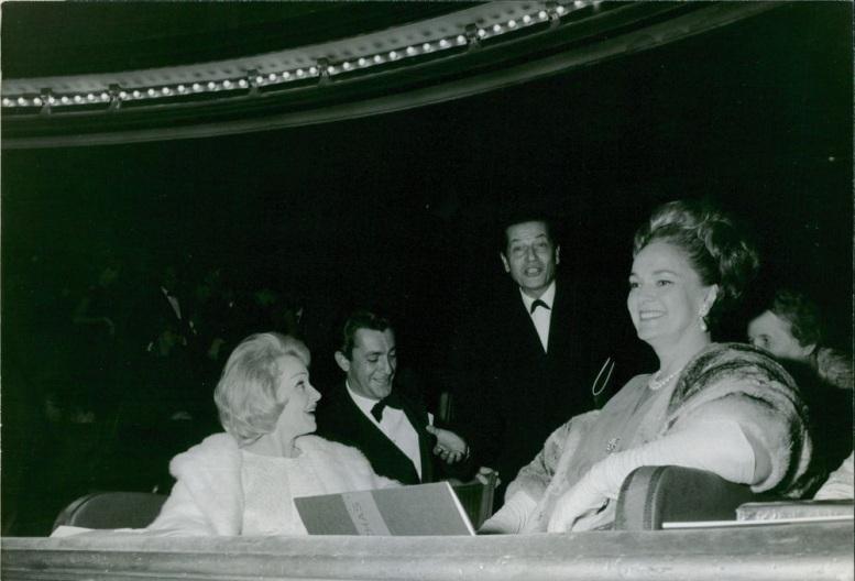 Begum Om Habibeh Aga Khan Marlene Dietrich