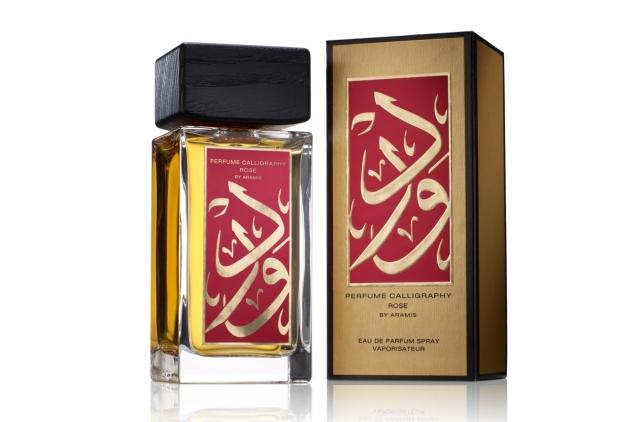 Aramis Calligraphy Rose Eau de Parfum Gold Red