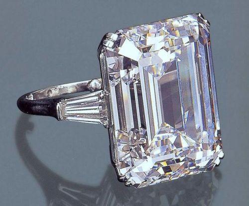 Begum Om Habibeh Aga Khan Yvette Labrousse Ring Diamond