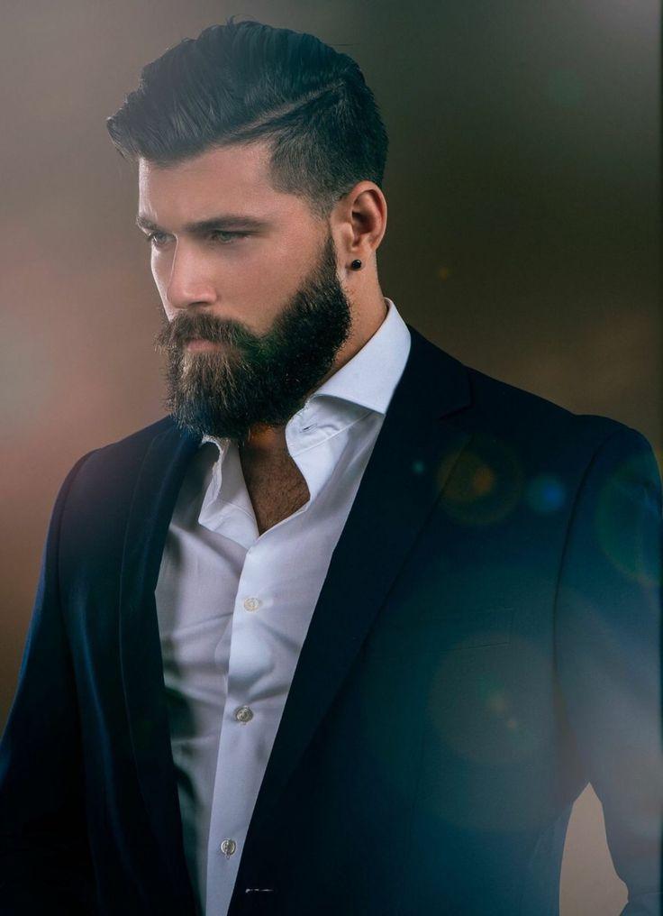 Man Beard Handsome Hairy Bear Classic Dressed
