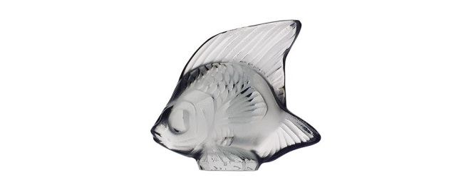 Lalique Fish Grey