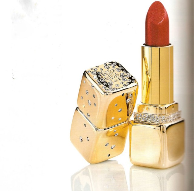 The Guerlain Diamond Studded Lipstick