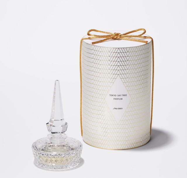 Shiseido Tokyo Sky Tree Parfum 2012 Limited Edition Crystal