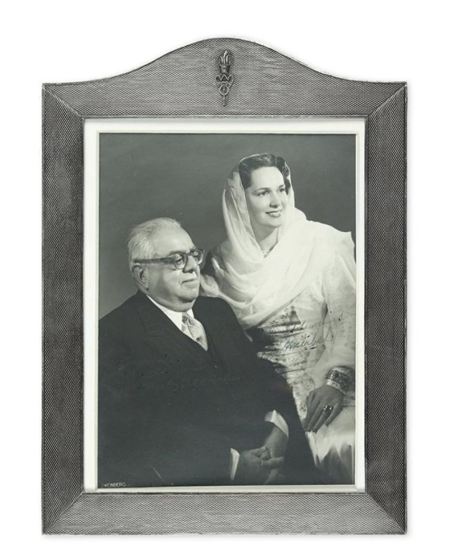 Yvette Labrousse Begum Om Habibeh Aga Khan III by Weinberg Picture Frame